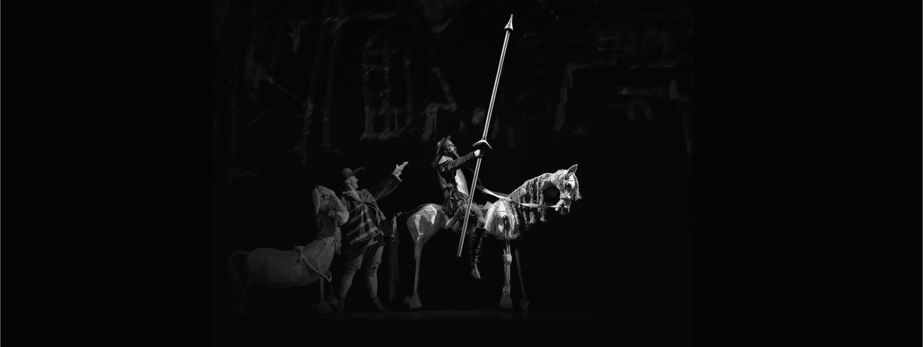 Înlocuire de spectacol, miercuri 22 martie: DON QUIJOTE revine cu o nouă aventură cavalerească, pe pași de dans!