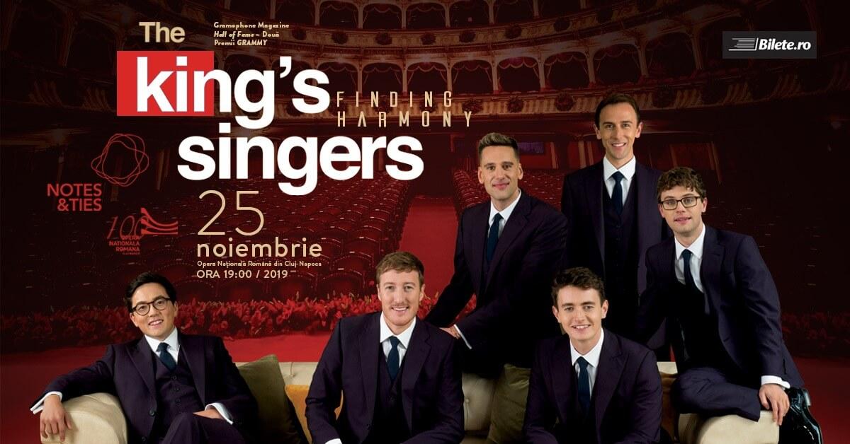THE KING'S SINGERS prezintă FINDING HARMONY, în concert extraordinar la Opera Națională Română din Cluj-Napoca